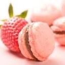 aardbei-macarons
