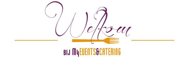 M4Events&Catering heet u van harte welkom